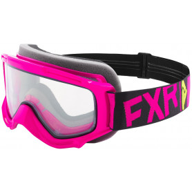 Youth Throttle Goggle rosa