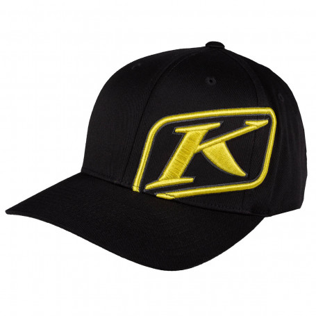 Rider Hat LG - XL Black - Yellow