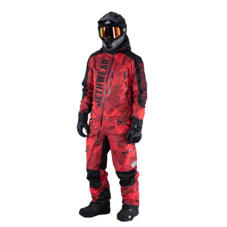 Jethwear Skoteroverall - The One monosuit Insulated - Infrared Camo